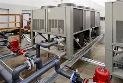 Central de resfriamento industrial